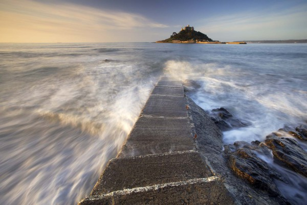 St Michaels Mount, Cornwall, UK C115